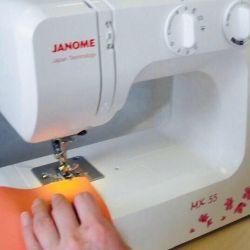 НОВАЯ Швейная машинка Janome MX 55