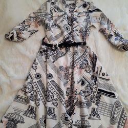 dress robe to the floor