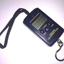 Portable scales for fishing
