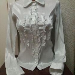 Shirt συν ένα δώρο λευκό μπλουζάκι