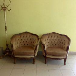 Armchairs 2 pcs Italy