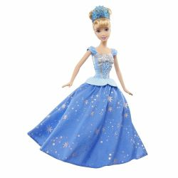 Cinderella with a developing skirt, 29 cm. New. USA