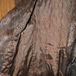 Φυσικό παλτό γούνας