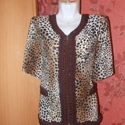 The blouse is new 56,60 size.