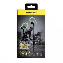 Αθλητικά ακουστικά Bluetooth Awie A890BL μαύρο