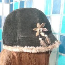 SALE! Женская зимняя шапочка!Обмен!