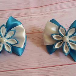Bows, handmade.