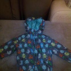 Куртка осень-весна + подарок