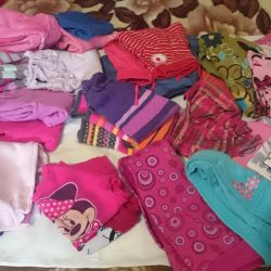 Clothes for a girl.