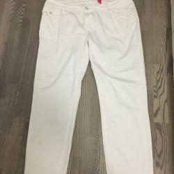 Jeans white 54-56 r