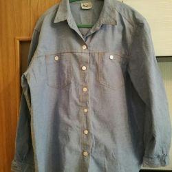 Denim shirt, 52-54-56