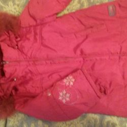 Winter jacket Aldous for a girl 3 years old