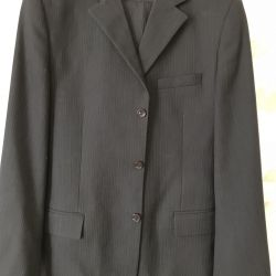 The suit is man's, warm, the 50th size