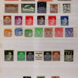 Germany, Reich. 100 different postage stamps