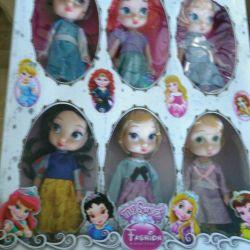 Ένα σύνολο κούκλες νέο