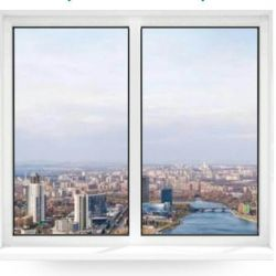 Вікна пластикові КВЕ б / у 4 шт (ціна за все 4 вікна)