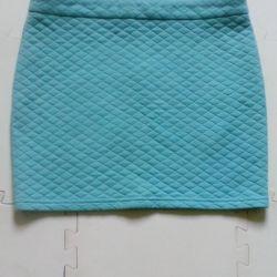 Skirt in city