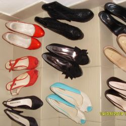 1. Shoes of sandals 37 38 39 exchange