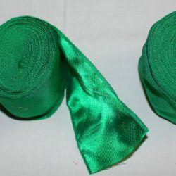 Yeni yeşil geniş şeritler