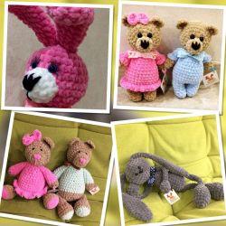 Plush and cotton toys