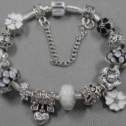 Pandora Style Bracelet 1896