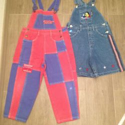 Overalls for the child