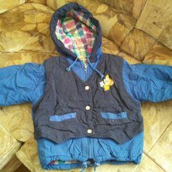 Jacket pentru băiatul demi-sezon