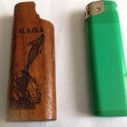 Lighter case. 1972g, USA.bobab