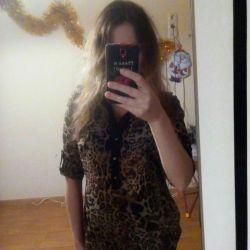 Блузка шифоновая