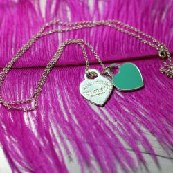 Pendant with chain under Tiffany