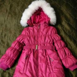 Winter coat f.Barkito for a girl 116-122 cm.