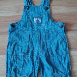 Overalls - shorts.