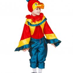 Children's carnival costume Parrot