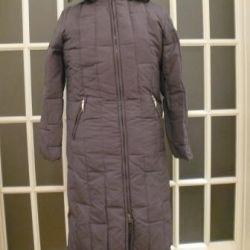 Gray long new down coat baon