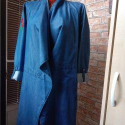 Denim cardigan new size 46-48