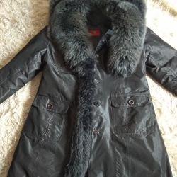 Φυσικό μπουφάν από γούνα
