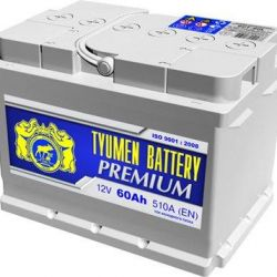 Battery TYUMEN PREMIUM 60 Ah op and nn (LOW)