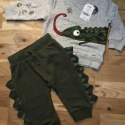 Costume, pants for height 80