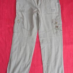 The choice of summer jeans 46-48 times for height from 170 cm
