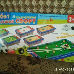 Επιτραπέζια αθλητικά παιχνίδια