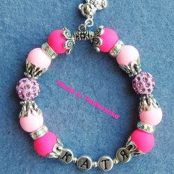 Bracelets with names for girls