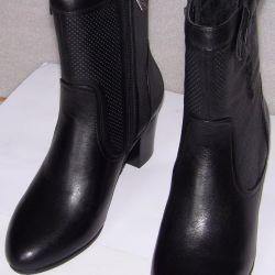 Autumn 36-38-39-40 black boots Cavaletto