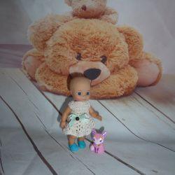 Knitted dresses for Chou Chou dolls