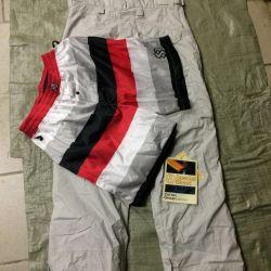 Pantaloni de snowboard pentru blugi speciali pentru bărbați