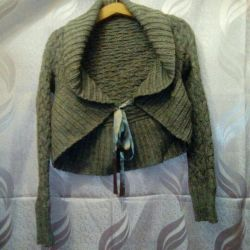 Bolero warm knitted