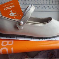Yeni vernikli ayakkabı antilopa 30 numara