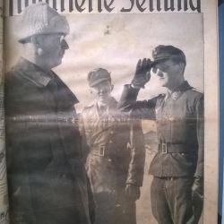 Çarşaf Berliner Zeitung Illustrirte 3rd Reich