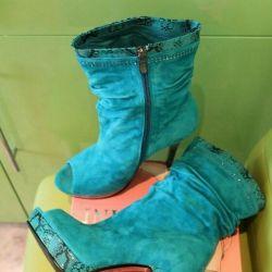 Μπότες αστράγαλο r.40