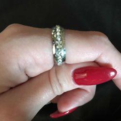 Кольцо бижутерия женское