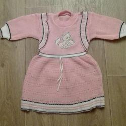 Φόρεμα για κορίτσι ηλικίας κάτω του ενός έτους
